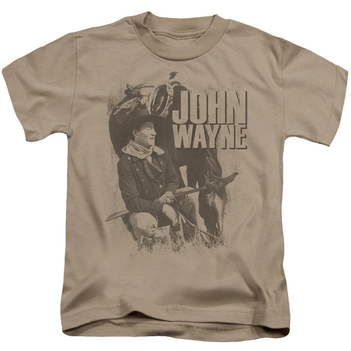 John Wayne - In The West Short Sleeve Juvenile 18/1 Tee - Special Holiday Gift