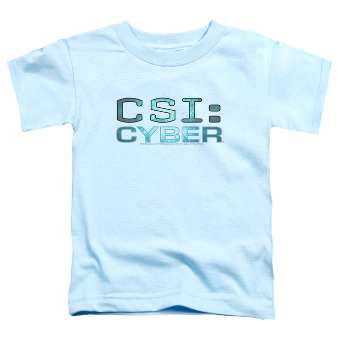 Csi: Cyber - Cyber Logo Short Sleeve Toddler Tee - Special Holiday Gift