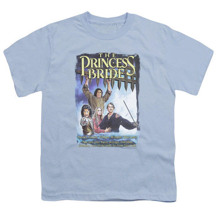 Princess Bride - Alt Poster Short Sleeve Youth 18/1 Tee - Special Holiday Gift