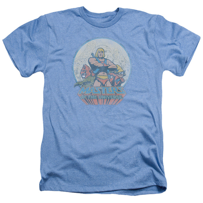 Masters Of The Universe - He Man And Crew Adult Heather - Special Holiday Gift