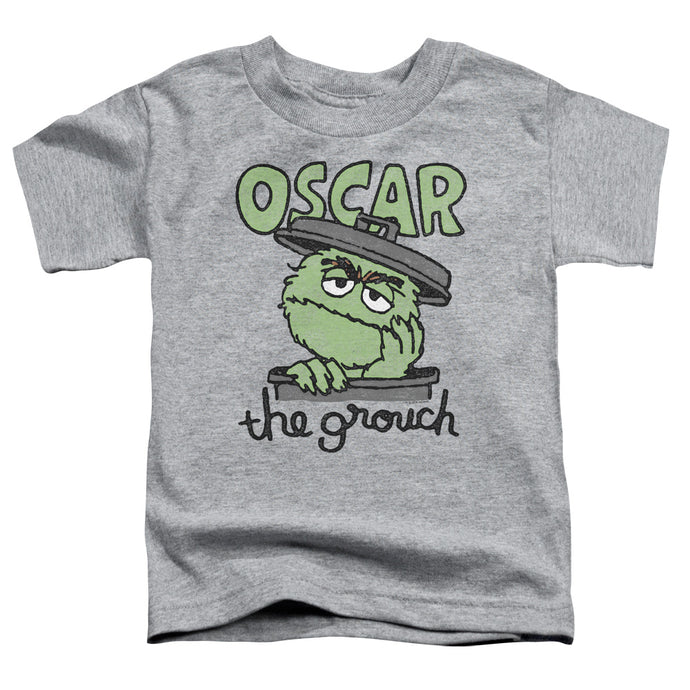 Sesame Street - Canned Grouch Short Sleeve Toddler Tee - Special Holiday Gift