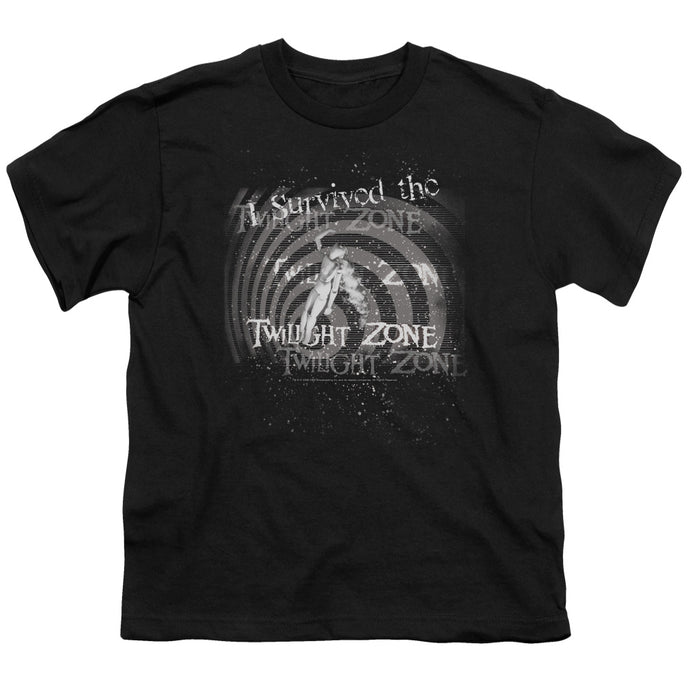 Twilight Zone - I Survived The Short Sleeve Youth 18/1 Tee - Special Holiday Gift