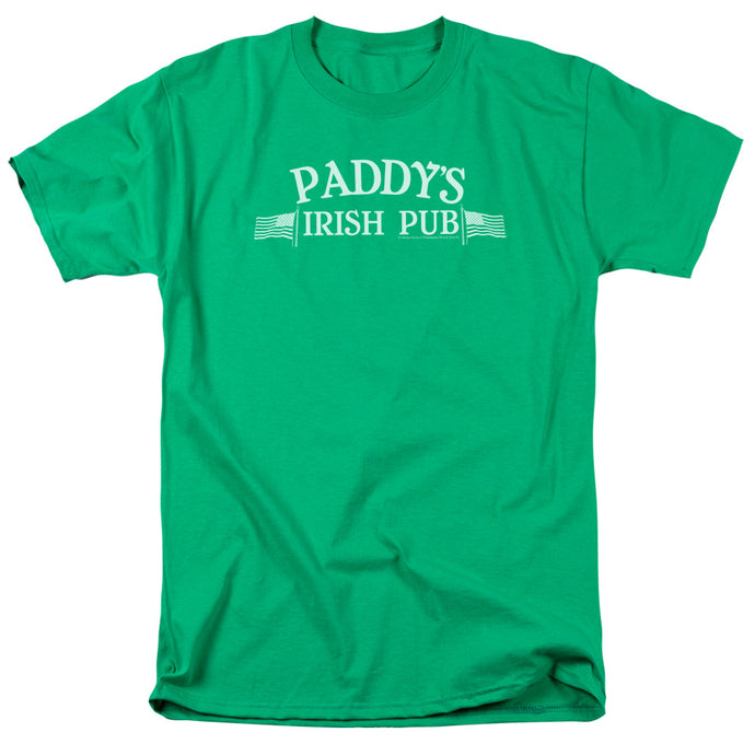 Its Always Sunny In Philadelphia - Paddys Logo Short Sleeve Adult 18/1 Tee - Special Holiday Gift