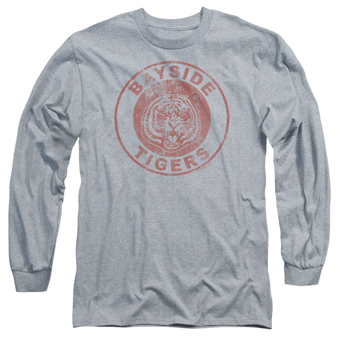 Saved By The Bell - Tigers Long Sleeve Adult 18/1 Tee - Special Holiday Gift