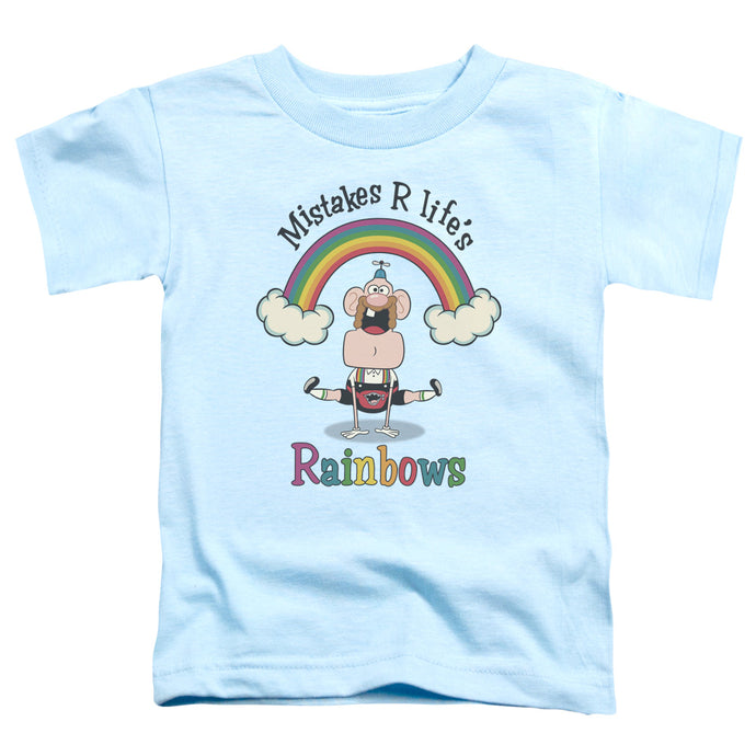 Uncle Grandpa - Life's Rainbows Short Sleeve Toddler Tee - Special Holiday Gift