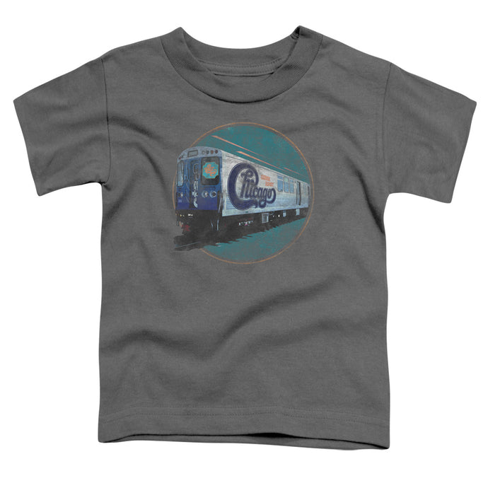 Chicago - The Rail Short Sleeve Toddler Tee - Special Holiday Gift