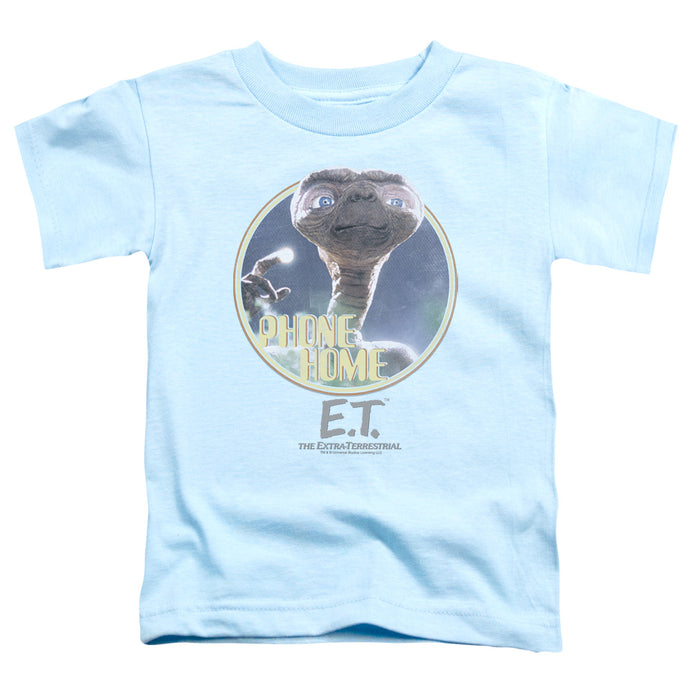 Et - Phone Home Short Sleeve Toddler Tee - Special Holiday Gift
