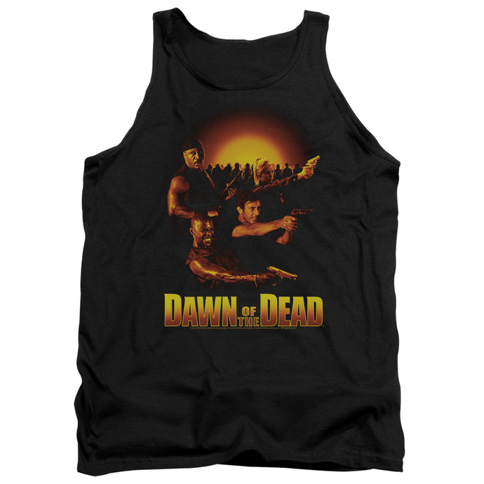 Dawn Of The Dead - Dawn Collage Adult Tank - Special Holiday Gift