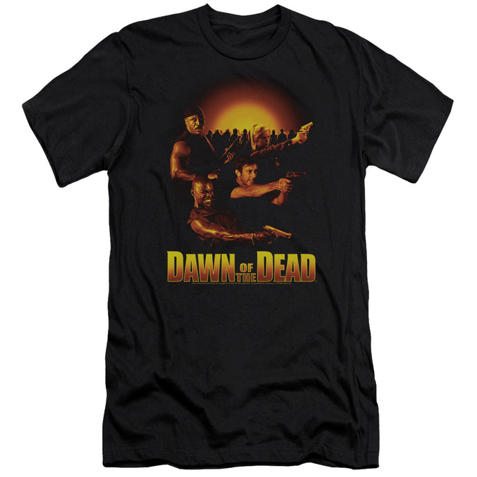 Dawn Of The Dead - Dawn Collage Short Sleeve Adult 30/1 Tee - Special Holiday Gift
