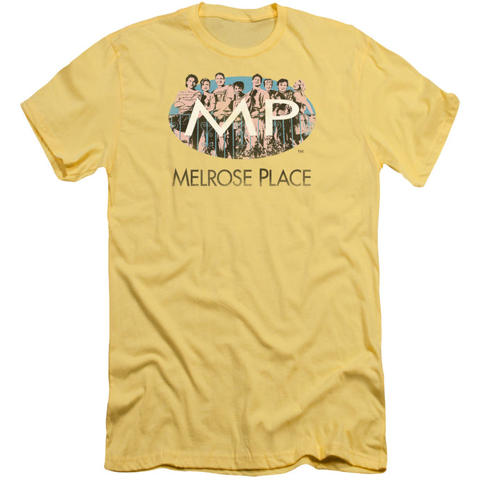 Melrose Place - Meet At The Place Short Sleeve Adult 30/1 Tee - Special Holiday Gift