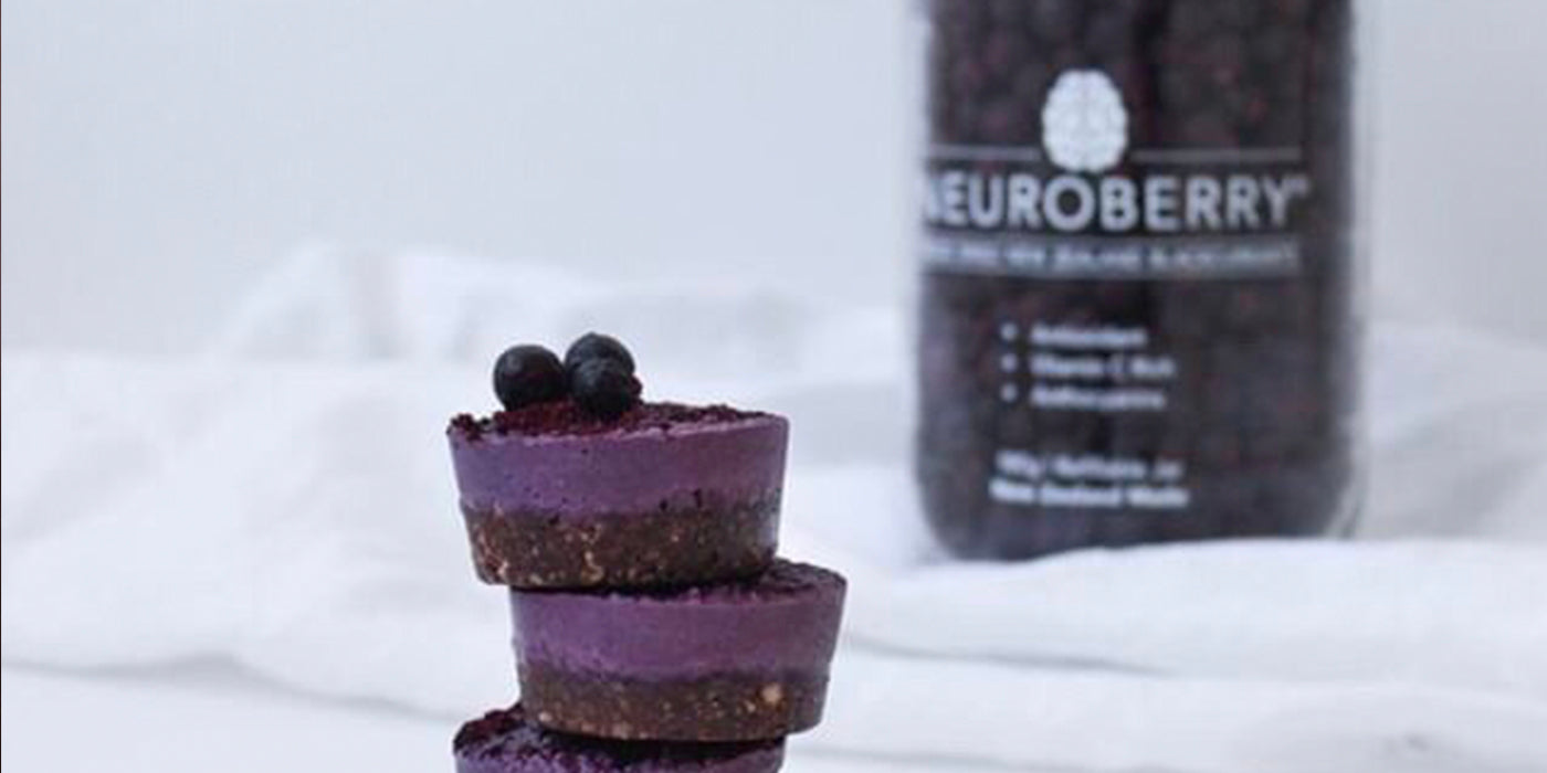 Food for Thought - Vegan NeuroBerry Cheesecake Recipe