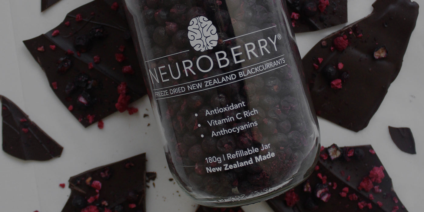 Ārepa Freeze-Dried Neuroberry Chocolate Bark Recipe