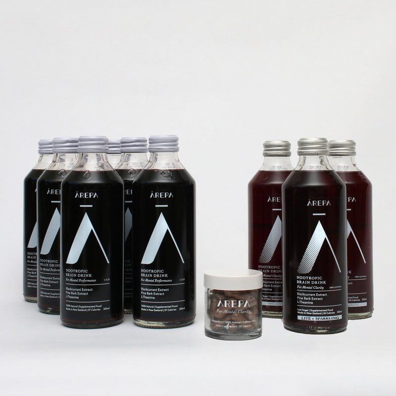 Ārepa Performance Bundle - Drink Ārepa