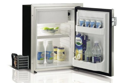 Vitrifrigo C42LX Stainless Steel 42 Litre Fridge Freezer + Remote  Compressor - 041832