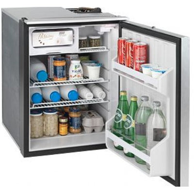 Isotherm Cruise Elegance CR85EL - 85L Marine Fridge/Freezer - 12 to 24 Volt Changeable Left or Right Hand Door (EL85SDC)
