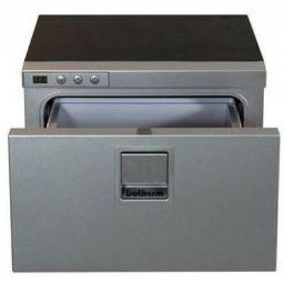 Isotherm DR16 Cruise Draw Fridge or Freezer - 16 Litre with Silver Door - DR16 INOX (DEL16SDC)