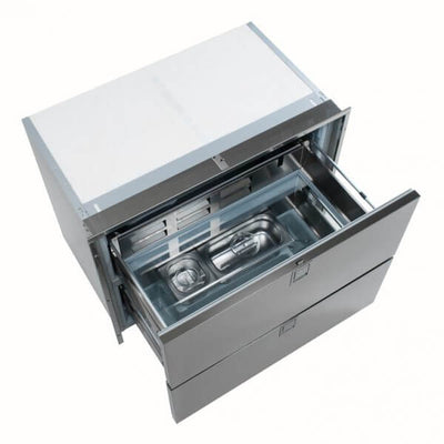 Isotherm 190 Litre 2-Drawer Fridge Only Stainless Steel (DR190_381644)