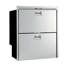Vitrifrigo DW180DTX 2-Drawer 64 Litre Fridge plus 80 Litre Freezer - Flush Frame with Slam Lock