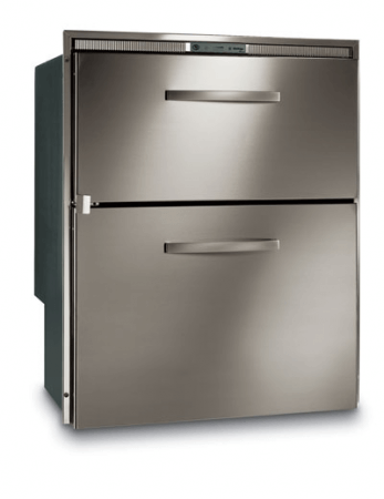 Vitrifrigo DW210BT 78 104 litre Stainless Double Drawer Feezer (Optional Flush Frame)