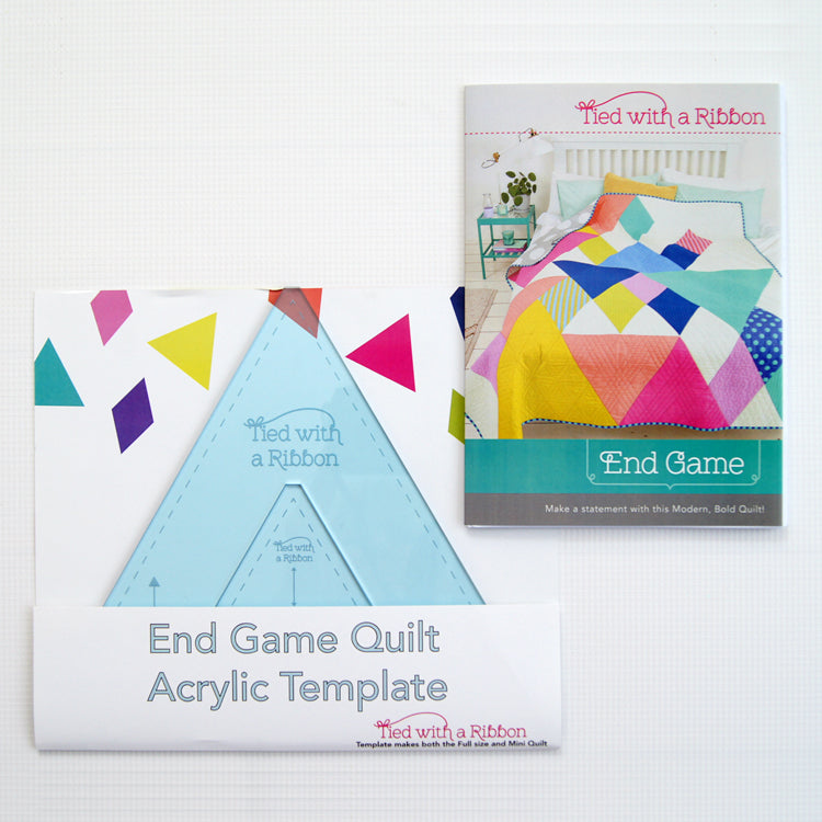 "Join in on the sew along with Jemima Flendt @tiedwitharibbon to make her latest Quilt Pattern Release End Game Quilt. Troll Brothers Quilt Designs is proud to be apart of this amazing sew along and bring you closer to your ""End Game Quilt"""