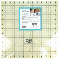 "Quilter's Select Quilting Ruler - Select 12.5"" x 12.5"" Non-Slip Ruler"