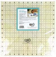"Quilter's Select Quilting Ruler - Select 12"" x 12"" Non-Slip Ruler"