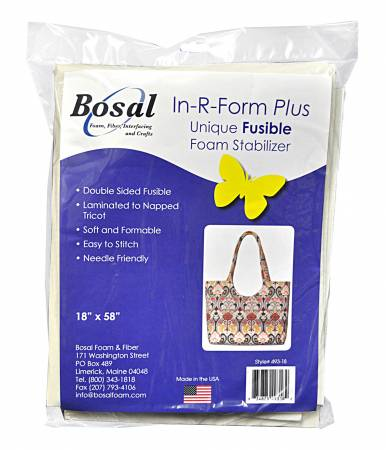 In-R-Form Plus Double Sided Fusible Foam Stabilizer 18in x 58in