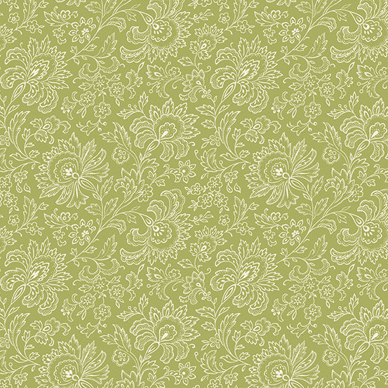 French Chateau Moss Paisley- Renee Nanneman