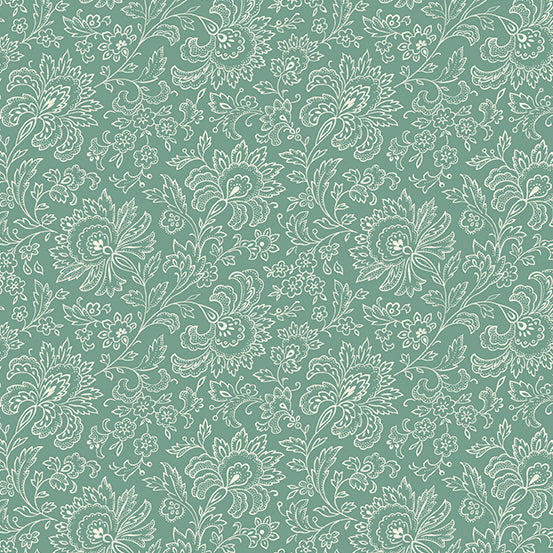 French Chateau Sea Spray Paisley- Renee Nanneman