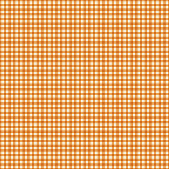 French Chateau Carrot Gingham- Renee Nanneman