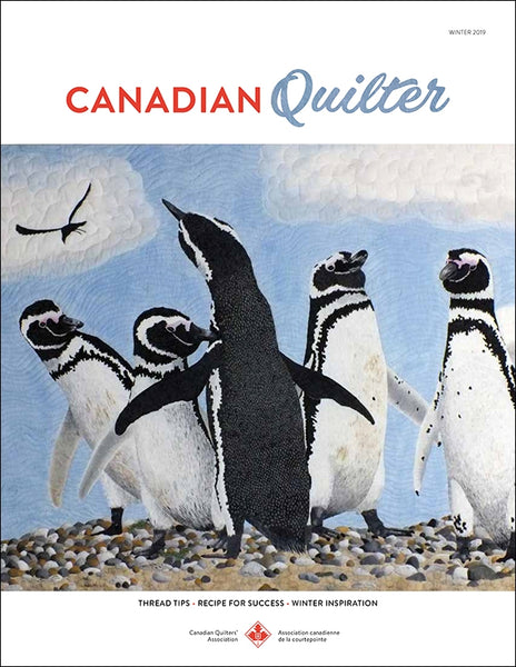 Canadian Quilter Magazine - Winter 2019