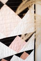 Double Mountain Quilt Pattern