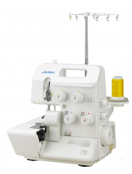 Juki MO-654DE 2/3/4 Thread Overlock with Differential Feed and Rolled Hem