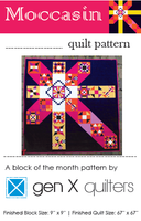 Moccasin Samper Quilt Pattern