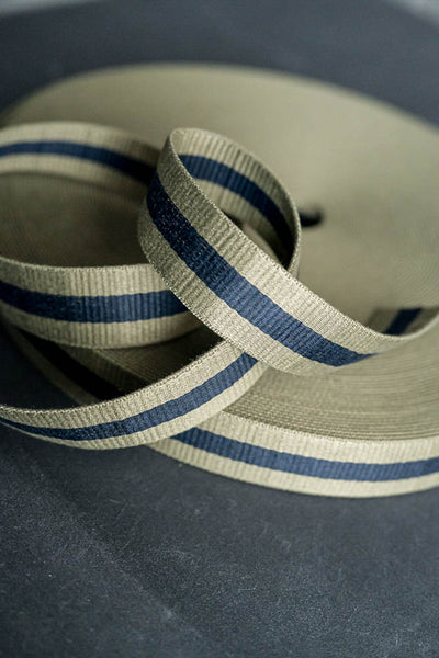 Claremont Sage/Navy 40mm Webbing