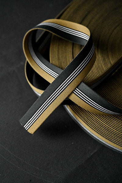Dashing Gold Green 35mm Webbing