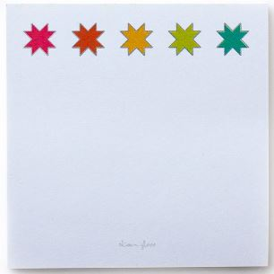 Quilt Star Sticky Note