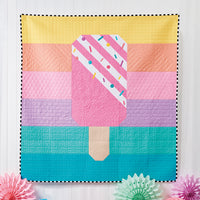 Rainbow Popsicle Quilt Pattern