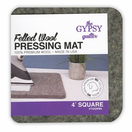 "***Pre-Sale*** Felted Wool Pressing Mat 4"" x 4"""