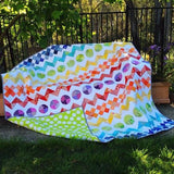 Rainbow Row by Row Quilt Pattern