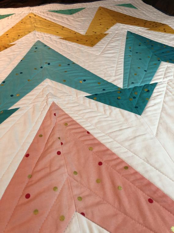 John Renaud - Up & @ 'EM! Quilt Pattern - from Crib to King