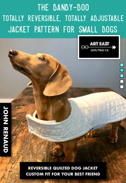 The Dandy-Doo Totally Reversible , Totally Adjustable Jackt Pattern - Small Dogs