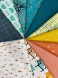Retro Day 10 Piece Half Metre Bundle