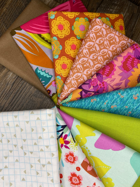 Bohemian Adventurer 10 Piece Half Metre Bundle