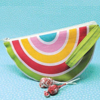 Moda - Cut Sew Create Rainbow Zipper Pouch - Digital Panel