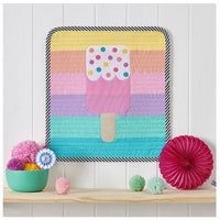 Rainbow Popsicle Mini Quilt Kit in Pat Bravo Matchmade