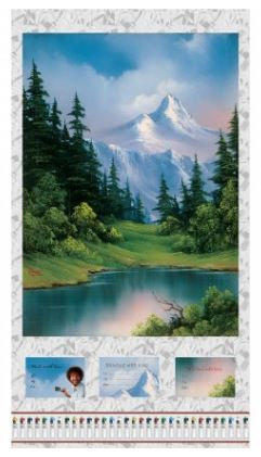 The Joy of Painting Four Scenic Panel - Bob Ross Digital for