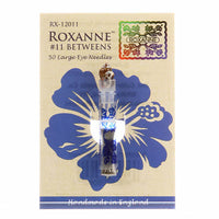 Roxanne Between/Quilting Needles Size 11 - 50 Count
