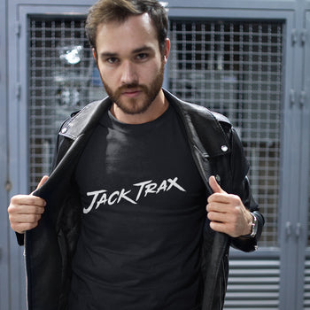 Jack Trax :: Black Long Sleeve Fitted Crew