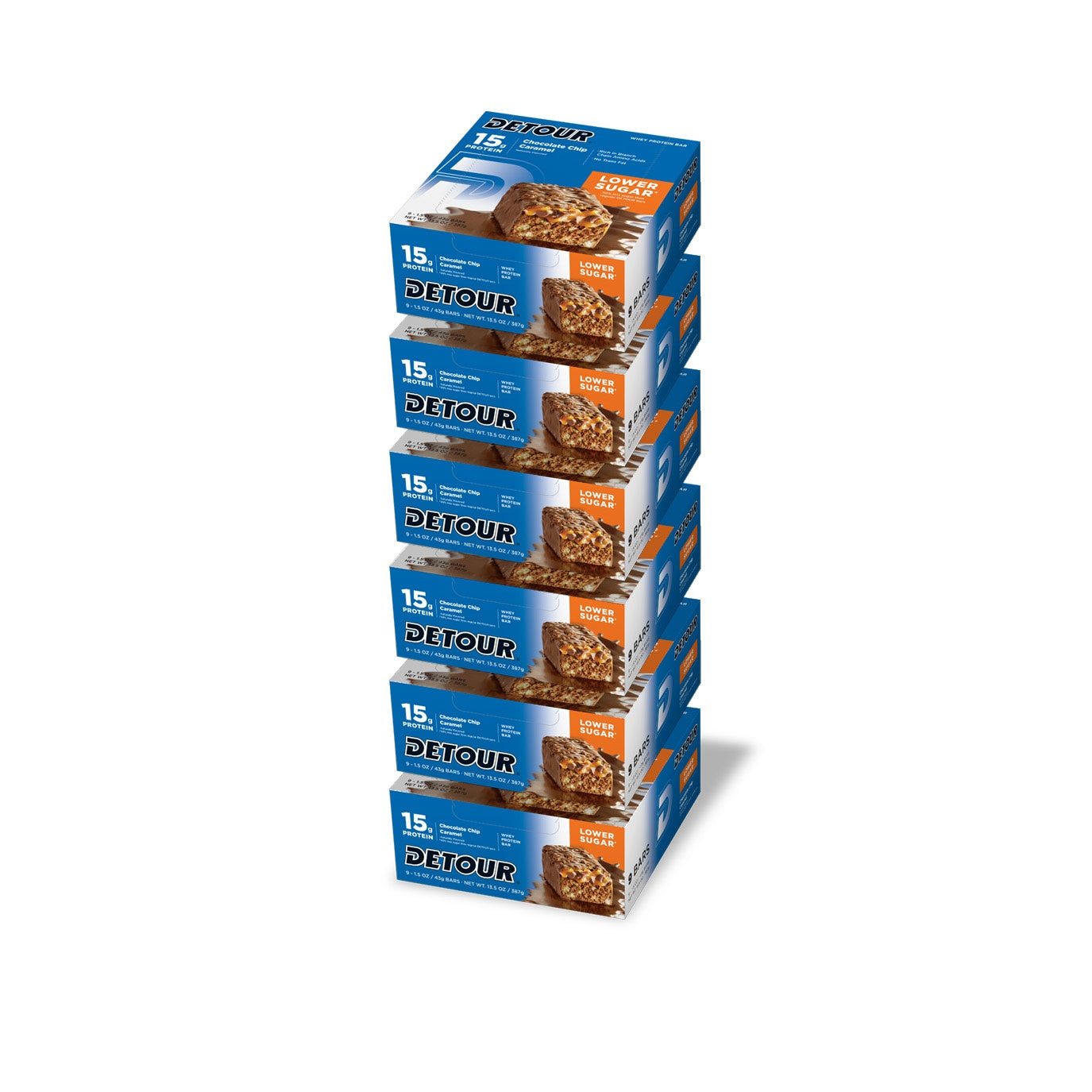 Detour Lower Chocolate Chip Caramel 9ct boxes